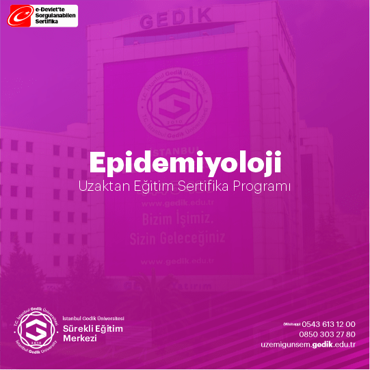 Epidemiyoloji, toplumdaki hastalık, kaza ve sağlıkla ilgili durumların dağılımını, görülme sıklıklarını ve bunları etkileyen belirteçleri inceleyen bir tıp bilimi dalıdır.