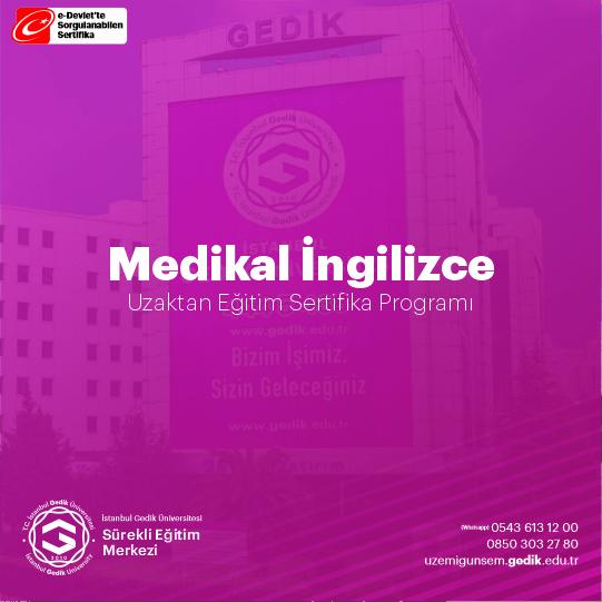 Medikal İngilizce Eğitim Programı