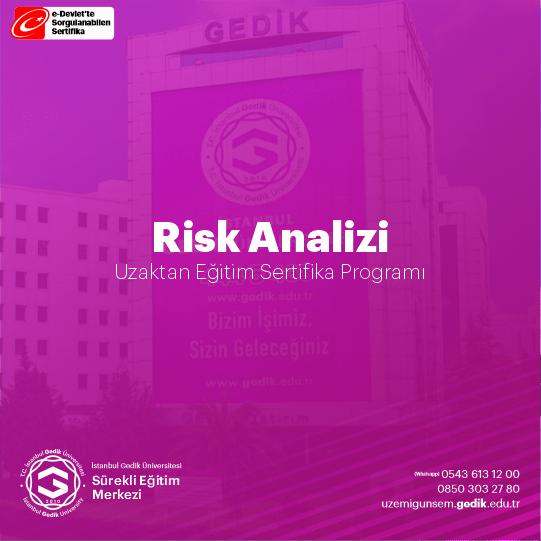 Risk değerlendirmesi; tüm işyerleri için tasarım veya kuruluş aşamasından başlamak üzere tehlikeleri tanımlama, riskleri belirleme ve analiz etme, risk kontrol tedbirlerinin kararlaştırılması, dokümantasyon, yapılan çalışmaların güncellenmesi ve gerektiğinde yenileme aşamaları izlenerek gerçekleştirilir.