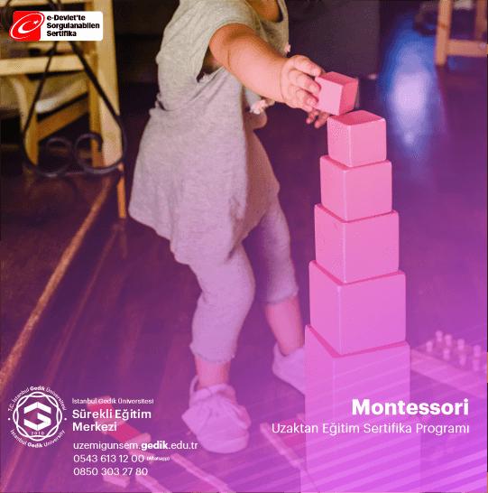Montessori metodunun kurucusu 1870 yılında İtalya'da dünyaya gelen ve İtalya'nın ilk kadın doktoru unvanını alan (1896) Maria Montessori'dir.  Montessori metodu çocukların doğal gelişimlerini gözleyen ve destekleyen, devrim niteliğinde bir metoddur.