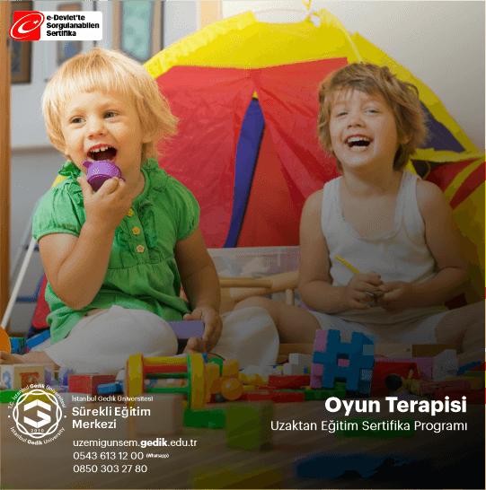Oyun Terapisi;çocuklarda görülen ruhsal problemlerin, davranış sorunlarının bu alanda eğitim alan uzman kişi tarafından oyun ve oyuncaklar aracılığıyla tedavi edilmesi, iyileştirilmesidir.
