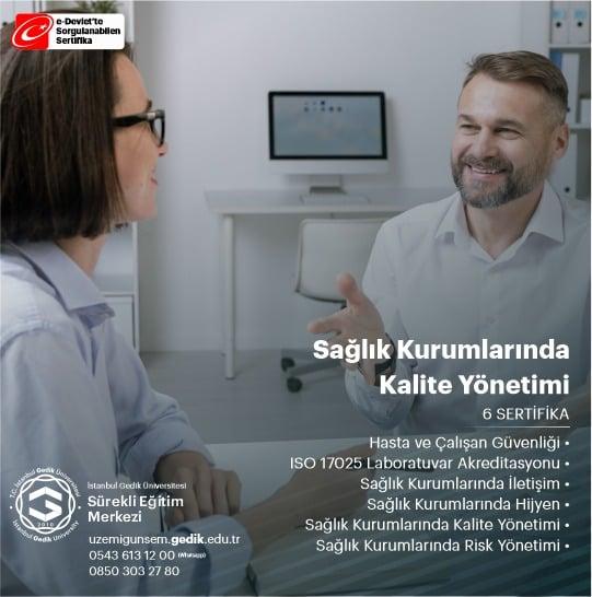 Sağlık Kurumlarında Kalite Yönetimi Eğitim Programı
