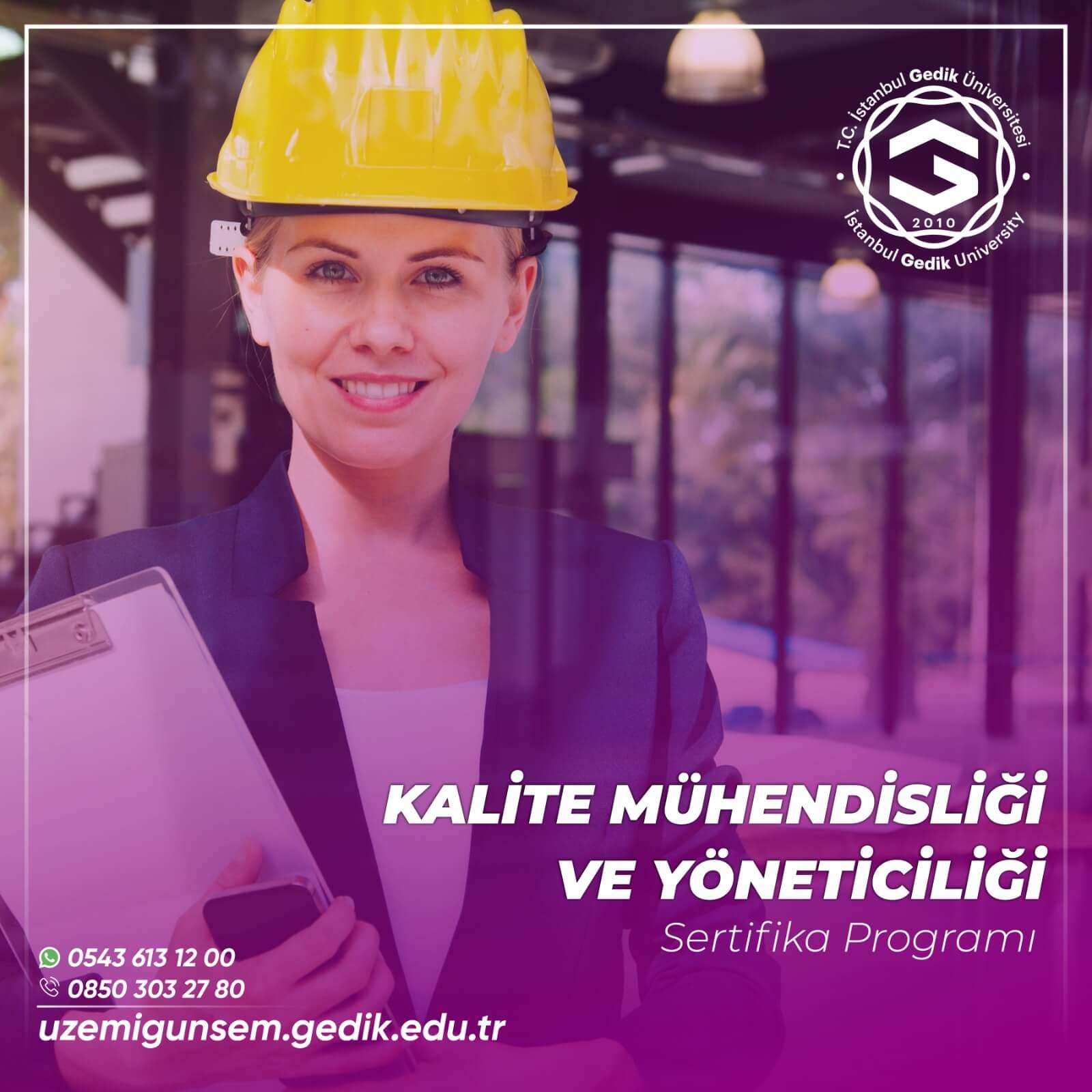 Kalite Mühendisliği ve Yöneticiliği Sertifikası